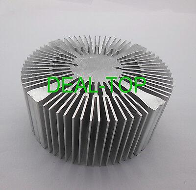 1pc 90x40mm Aluminium Heatsink Round For 20w 30w 50w 100w High Power Led Bead