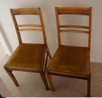 vintage  Australian chairs 1947