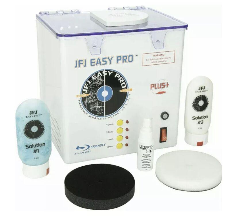 JFJ Easy Pro Disc Video Game, CD, DVD, Blu-Ray Repair Machine 110V - Brand New