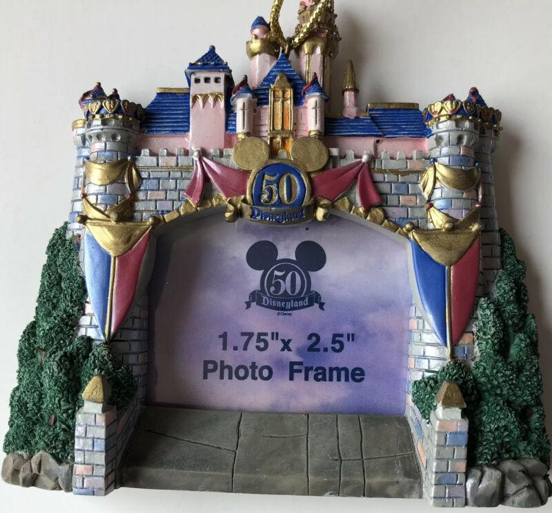 Disneyland Picture Frame Castle Disney 50 Year Anniversary