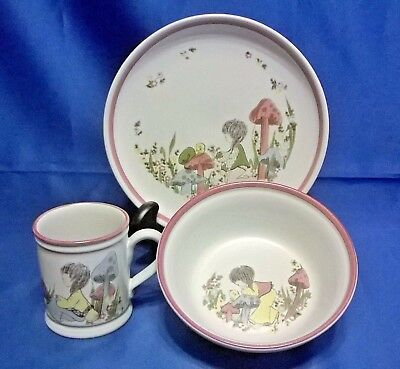 DENBY DREAM WEAVERS CHILDREN'S DISH SET - PINK - Dream Weavers