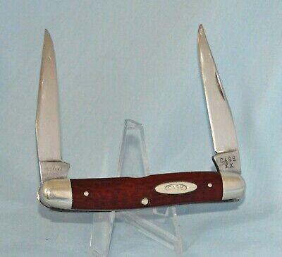 VINTAGE CASE XX REDBONE MUSKRAT KNIFE 1940-64