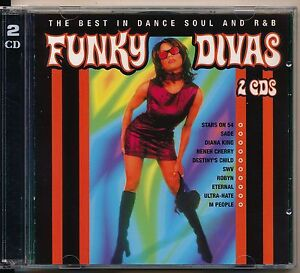 FUNKY-DIVAS-2CD-THE-BEST-IN-DANCE-SOUL-R-BA