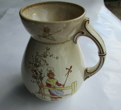 Kate Greenaway Transferware Pitcher