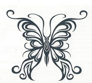 Large-Butterfly-Temporary-Tattoo-Tribal-black-large