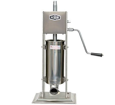 Kws Commercial Sausage Stuffer Maker St-5l11lb Heavy Duty Gear System