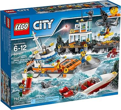 LEGO City 60167 - Quartier Generale Della Guardia Costiera NUOVO