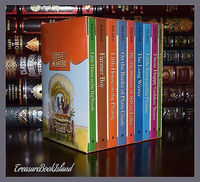 Little House on the Prairie by Laura Ingalls New Sealed 9 Volume Deluxe Box Set ()