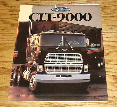 Original 1988 Ford Truck CLT-9000 Sales Brochure 88 CL-9000