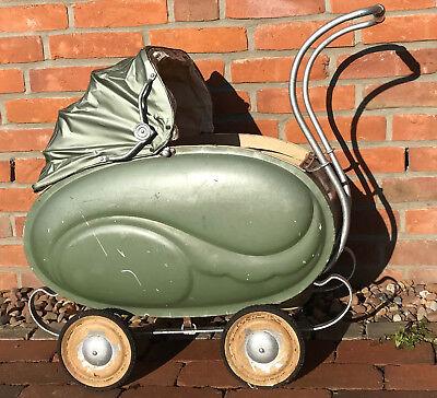 Alter Puppenwagen  Excelsior Dachbodenfund antik vintage