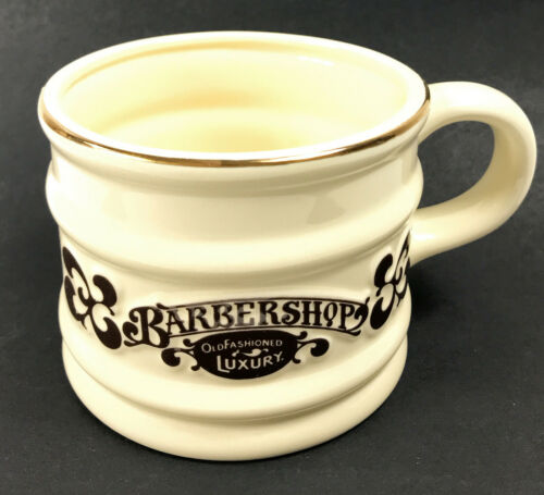 Vintage NOS 1976 Franklin Toiletry Barbershop Old Fashioned Luxury Shaving Mug