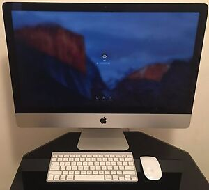 #6 Apple iMac Massive 27-inch 2.8 GHz Intel Core i7 1TB Hard Drive Epping Ryde Area Preview