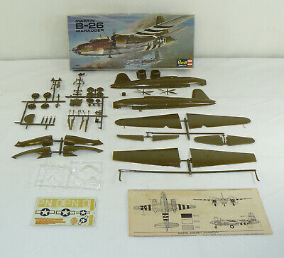 Revell Martin B-26 Marauder 1:72 Ready To Assemble Plastic Model Kit H-111:100