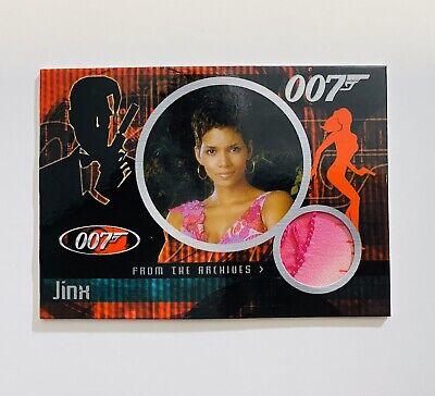 James Bond Halle Berry Dangerous Liaisons CC6  Costume Card Jinx Case