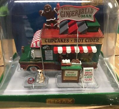 Lemax Christmas Village The Gingerbread Man, Set Of 3 Christmas Gift # 63278 NEW