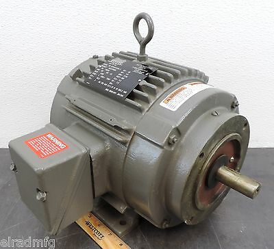 Lincoln Lm23768bd 1 Hp 1770 Rpm Electric Motor 3 Ph 460 New