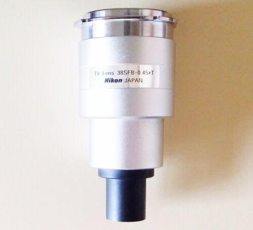 Nikon .45x CCTV Microscope Camera Adapter Part MQD41041 or 83047