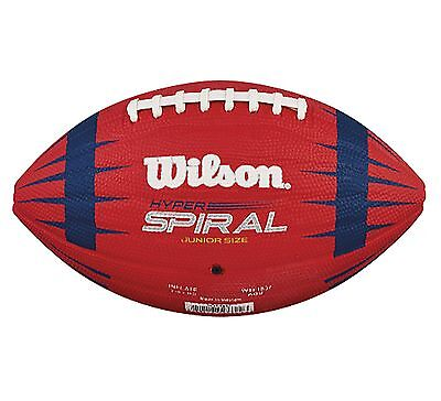 Wilson Hyper Spiral Nfl Play 60 Junior Size American Football Ball   Wtf1837
