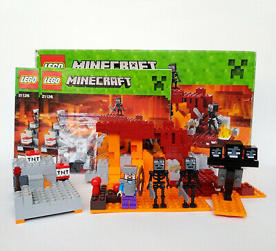 LEGO Minecraft 21126 The Wither COMPLETE Retired and Rare