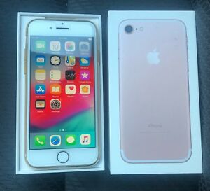 Unlocked iPhone 7, 128 GB, Rose Gold In Mint condition