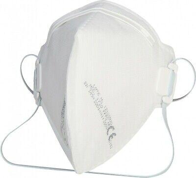 20 Stück FFP2 Atemschutz Feinstaub-Faltmaske Perfekt f. Brillenträger Made in EU