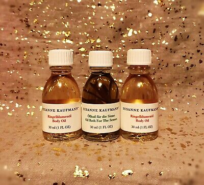 3x~NWOB~Susanne Kaufmann Bath & Body Oil~30 ml/ 1 fl oz each~See Description~