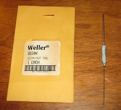 Weller Ds104 Clean Out Tool For Ds100 Desoldering Stations - New In Package