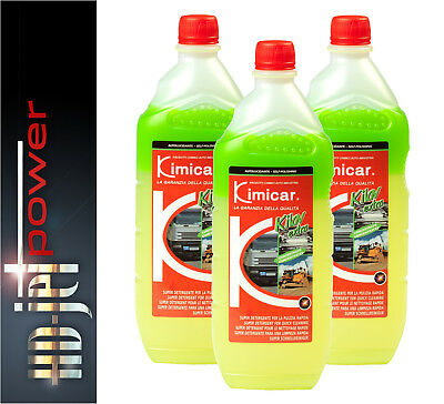 3x Extra Auto Universalreiniger 1 Liter Autopflege Konzentrat Turbo Shampoo