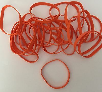 25 Orange Latex Free Rubber Bands 3 12 X 14 Size 64