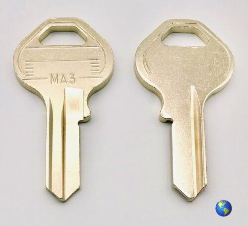 MA3 Key Blanks for Various Padlocks by Master Lock (5 Keys)