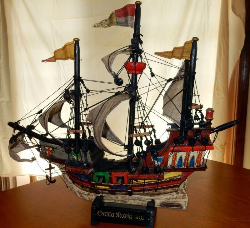 Santa Maria Ship  handcrafted by master artisans