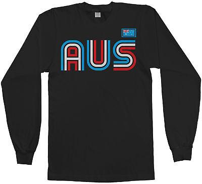 Australia Athletic Retro Series Men's Long Sleeve T-Shirt Soccer