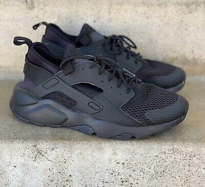 Nike Air Huarache Run Ultra 833147 001 Black 100% AUTHENTIC US 8.5