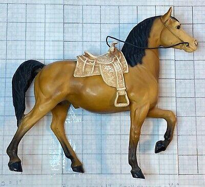 Vintage Breyer Gelding With Saddle