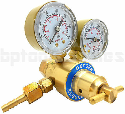 Oxygen Gas Welding Welder Regulator Pressure Gauge Victor Type Cutting Cga 540 F