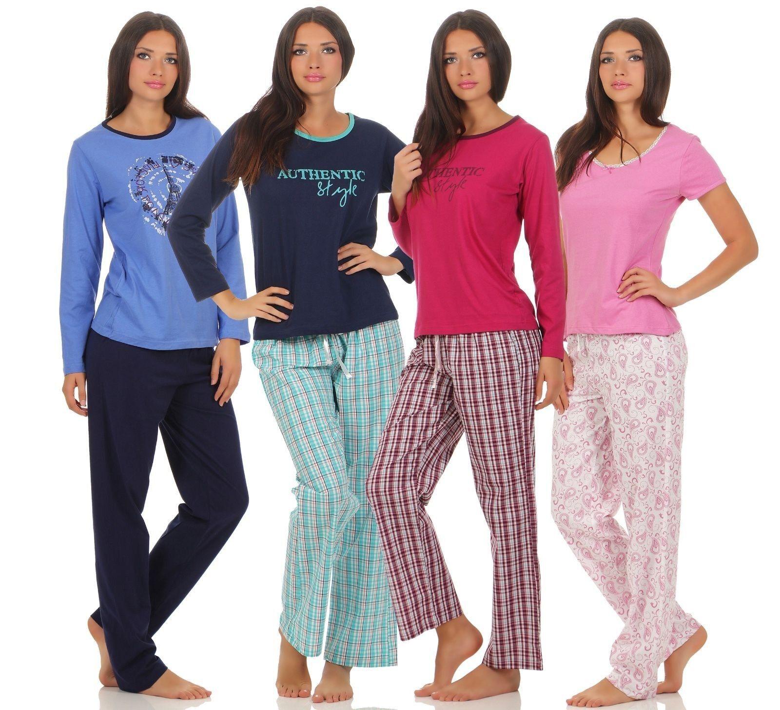 finest selection 908de b8f46 Damen Pyjama Lang Warm Test Vergleich +++ Damen Pyjama Lang ...