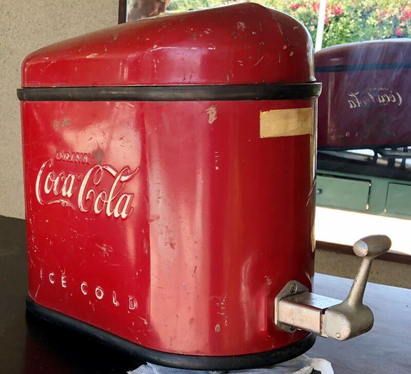 RARE 1939 COCA COLA SODA FOUNTAIN DISPENSER STREAMLINE MODERNE ORIGINAL-REDUCED!