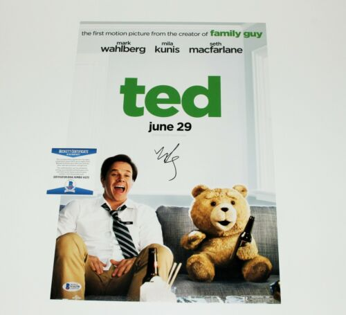 ACTOR MARK WAHLBERG SIGNED