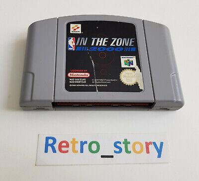 Nintendo 64 N64 - NBA In The Zone 2000 - PAL