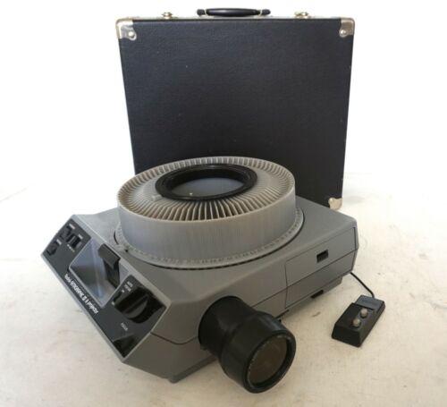 Kodak Ektagraphic III A Carousel Slide Projector Tray &  Zoom Lens 100-150mm