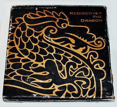 Enter The Dragon Bruce Lee RARE CD VHS 25th Anniversary PROMO REDISCOVER Box (Enter The Dragon 25th Anniversary Box Set)