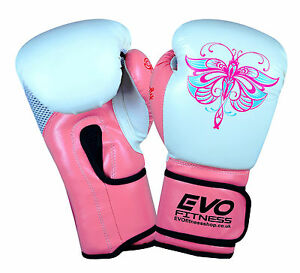 evo femmes rose gants de boxe enfants gel mma sac de. Black Bedroom Furniture Sets. Home Design Ideas