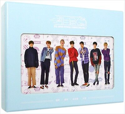 USED F/S BTS Bangtan Boys OFFICIAL JP FANMEETING VOL.3 DVD + Photo book