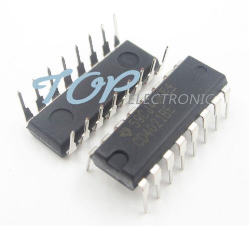 10pcs NEW CD4021 CD4021BE CMOS STATIC SHIFT REG DIP16 DIP-16 TI IC