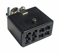 DC Power Plug - 8 pin Female Jones Plug - Used with Henry Solid State Amplifiers