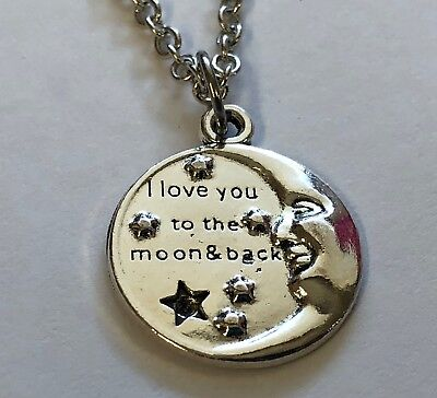 crescent moon NECKLACE gift #28 Gift idea fun party favor game prize door prize - Game Prize Ideas