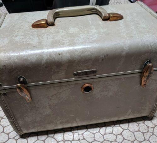 Vintage Samsonite Travel Train Luggage Makeup Case
