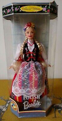 1997 Collector Edition ~ POLISH ~ Dolls Of The World Barbie Doll ~ Rare ~ NRFB
