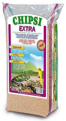 Chipsi Extra Small 15kg Buchenholz-Granulat Bodensubstrat Reptilien Nager Vögel