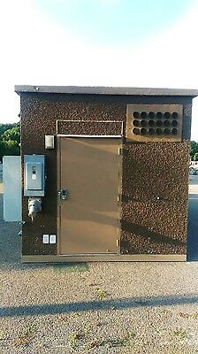 Concrete Communication Shelter Cabins Hunting Storage Bldg 10x20